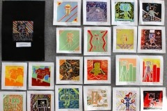 Yr8 printmaking (Copy)
